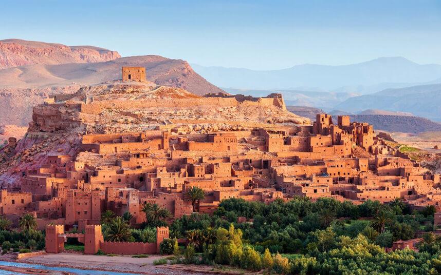 מרוקו הרים רקע
